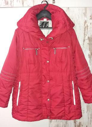 Куртка жен. деми bonprix (германия) uk/28 очень большой размер супер-батал