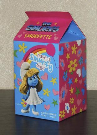 The smurfs smurfette 50 мл для девочек