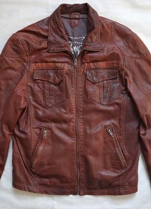 Стильна німецька шкіряна куртка gipsy