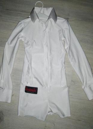 Рубашка комбез для танцев мальчику 128 academiac