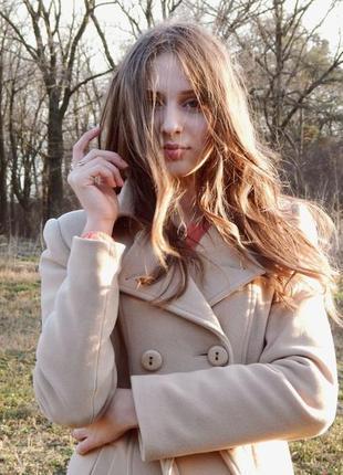 Модное осенне-весеннее пальто
