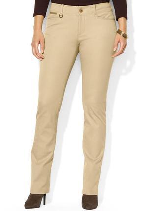 Оригинальные твиловые джинсы песочного цвета поло ralph lauren