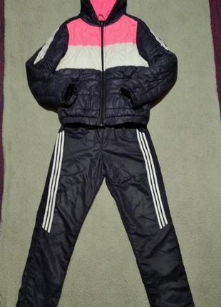 Комплект, костюм, комбинезон зимний куртка + штаны