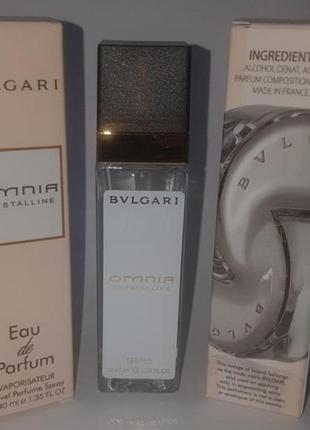 Мини парфюм дорожная версия  40 мл стойкие omnia crystalline