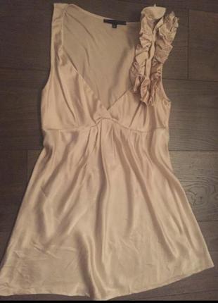 Блуза шелковая imperial, s-m 100% шелк