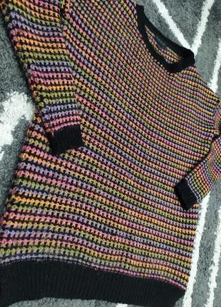 Тёплый яркий свитерок турция topshop