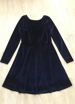 Бархатное платье asos
