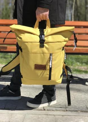 Рюкзак ролл топ r3, handmade.