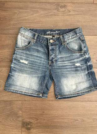 Victorias secret джинсовые шорты , s
