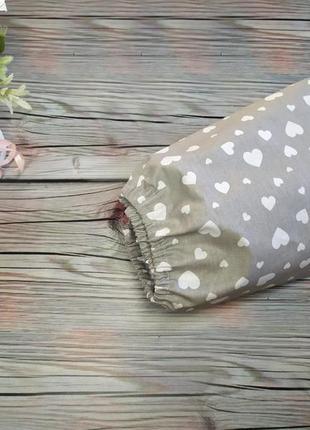Простынь в круглую кроватку на резинке