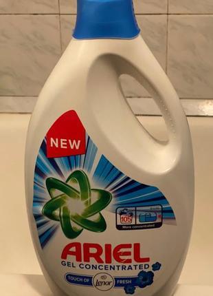 Гель порошок ariel lenor fresh 5.75l