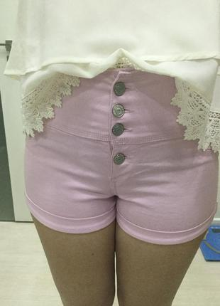 Terranova шорты джинсовые