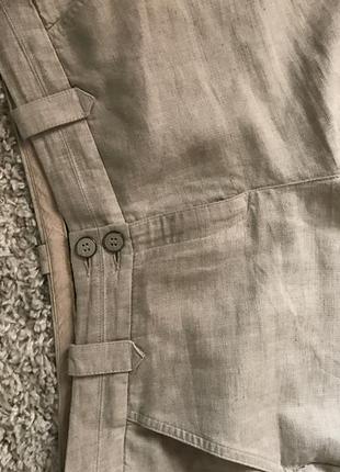 Шикарные льняные брюки mark&spencer 12р!
