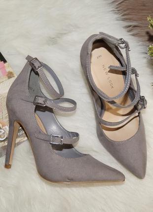 (35р./23,5см) new look милые стильные туфли-лодочки