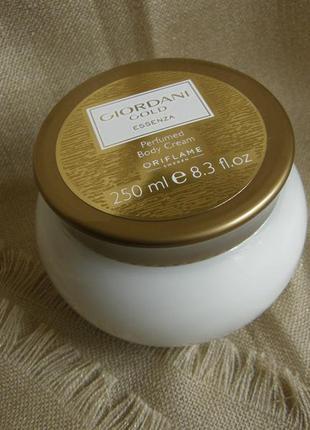 Парфюмированный крем для тела giordani gold essenza