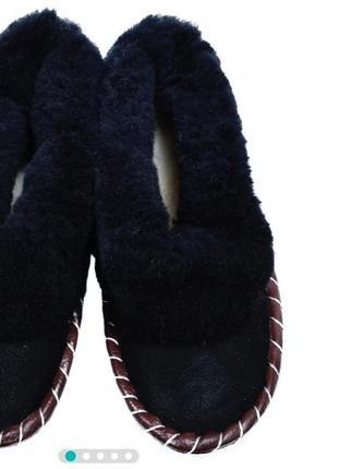 Чуни тапочки тапки угги домашняя обувь р.43 28-28,5 см шерсть +замш