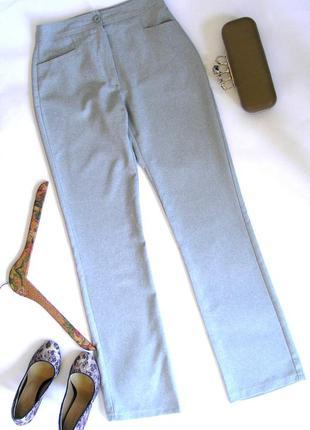 Серые тонкие брюки - базовый гардероб, s-m