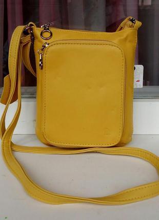 Стильная новая кожаная сумка cross-body it.