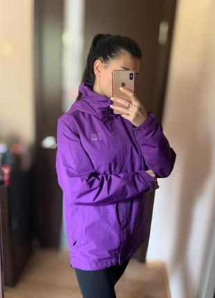 Женская куртка helly hansen hh спортивная фиолетовая большого размера