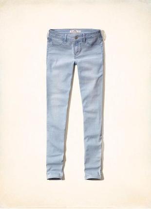 Продаются новые летние джинсы скинни hollister оригинал в завышенной талией