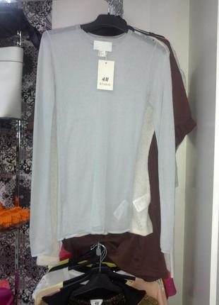 Тончайшая блуза из эксклюзивной подиумной коллекции h&m studio
