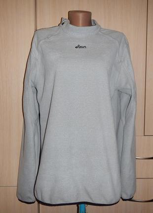 Кофта asics p.l\xl(48-50) реглан флисовый женский