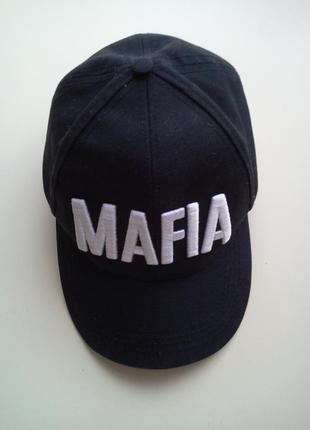 Черная джинсовая бейсболка mafia, размер 57