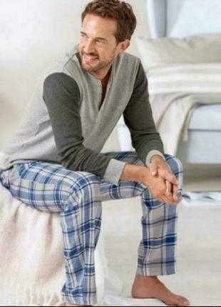 Брюки фланелевые c боковыми карманами для дома и для сна от tchibo(германия)