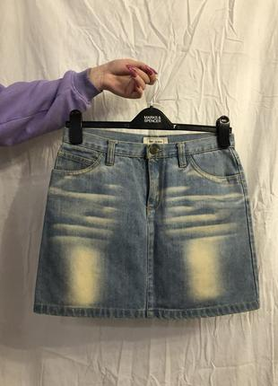 Мини юбка trf jeans