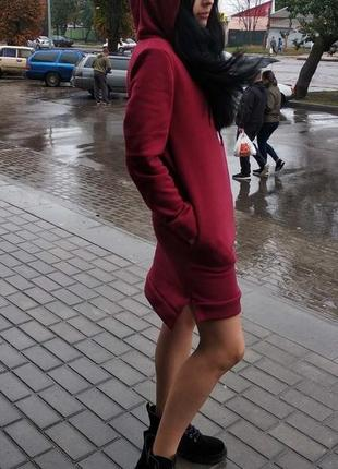 Женские спортивные платья на флисе