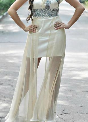 Выпускное вечернее платье-трансформер