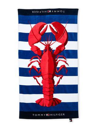 Большое пляжное полотенце tommy hilfiger. оригинал