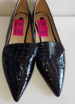 Стильные кожанные туфли