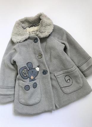 Пальто next утеплённое