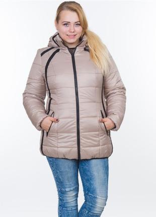 Женская зимняя куртка модель №25 р. 44-54 3 расцветки