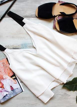 Белоснежная блуза зара