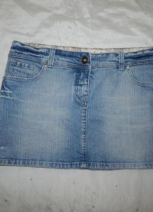 George юбка mini джинсовая стильная модная р16