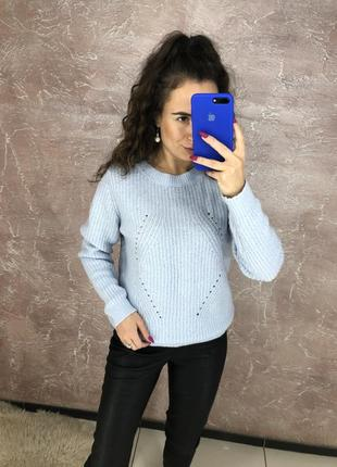 Ніжно голуба кофта