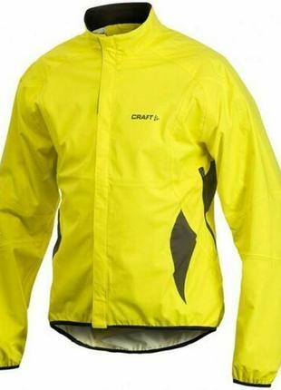 Мужская куртка велокуртка craft active rain ветровка