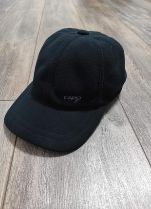 Зимняя флисовая  кепка бейсболка с ушами  capo(austria)