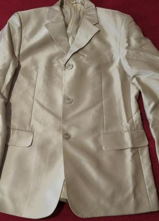 Пиджак 52 р с отливом