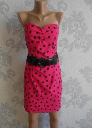 Платье бандо jane norman в идеальном состоянии l - xl