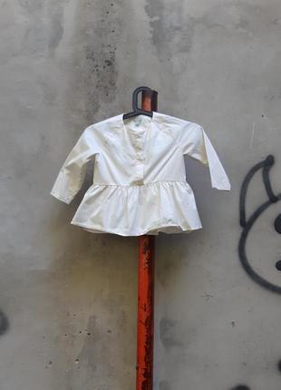 Блузка cos 4-6 лет