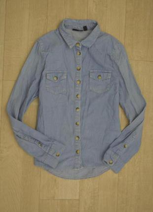 Джинсовая рубашечка размер 10