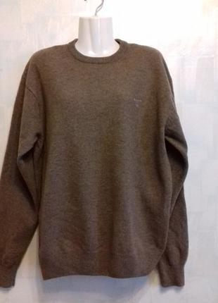 Шерстяной свитер джемпер gant