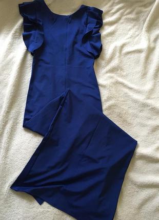Плаття синє