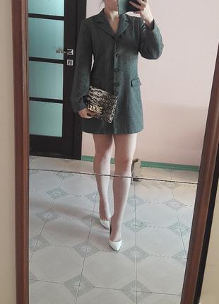 Пиджак длинный(жакет)тренч