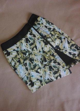 Асиметричная юбка с разрезом спереди на замке от k.plastinina