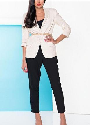 Белый лёгкий пиджак от кира пластинина оригинальный на одну пуговицу
