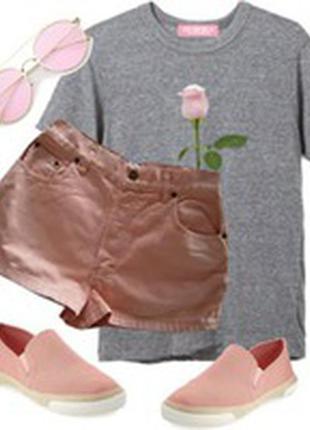 Джинсовые шорты размер 40-44 бренд opsay